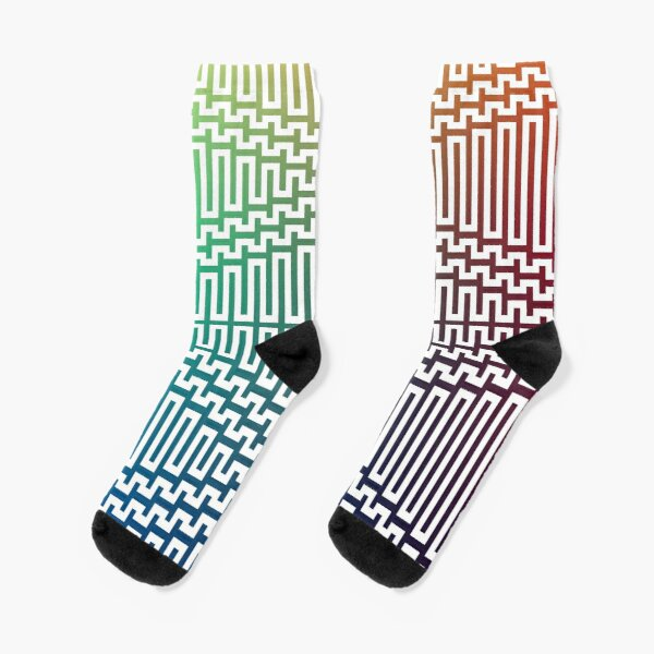 Scientific, Artistic, and Psychedelic Prints on Awesome Products Socks