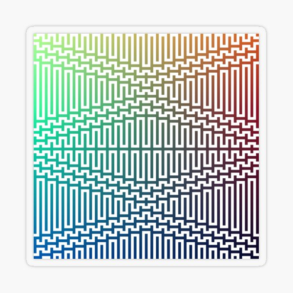 Scientific, Artistic, and Psychedelic Prints on Awesome Products Transparent Sticker