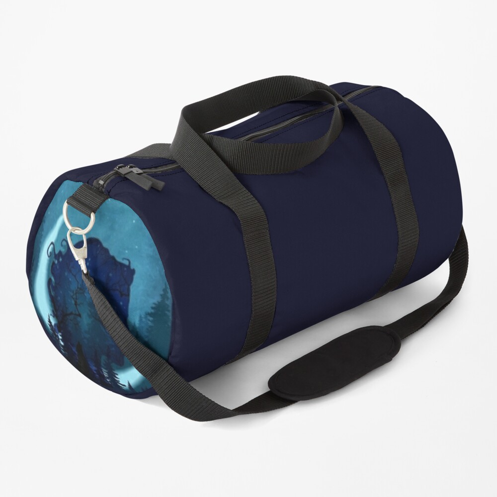 Lady of the Forest Duffle Bag