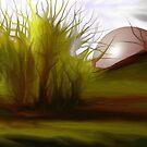 autumn sunset    -   ArtRage digital painting software by Gabriela Simut