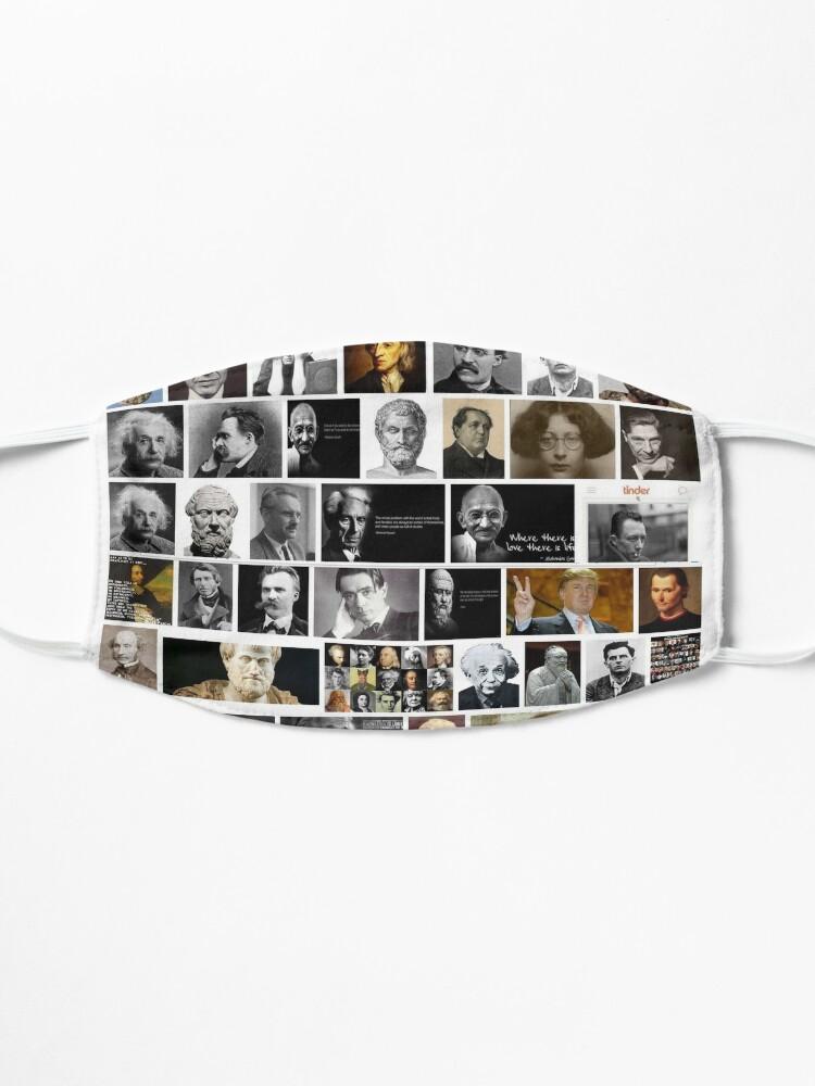 Alternate view of Famous philosophers, #Famous, #philosophers, #FamousPhilosophers, #Philosophy, #philosopher, #FamousPhilosopher Mask