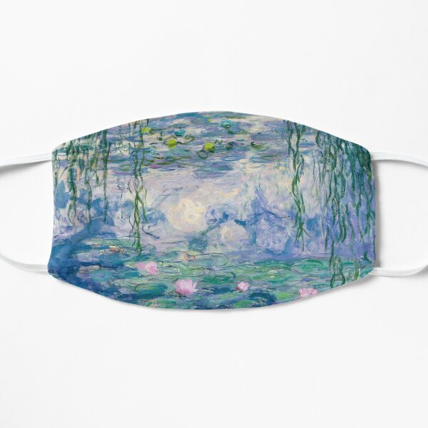 Water Lilies Claude Monet Fine Art Mask