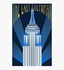 The Last Olympian Photographic Print