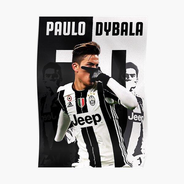 Paulo Dybala Mask Celebration Poster