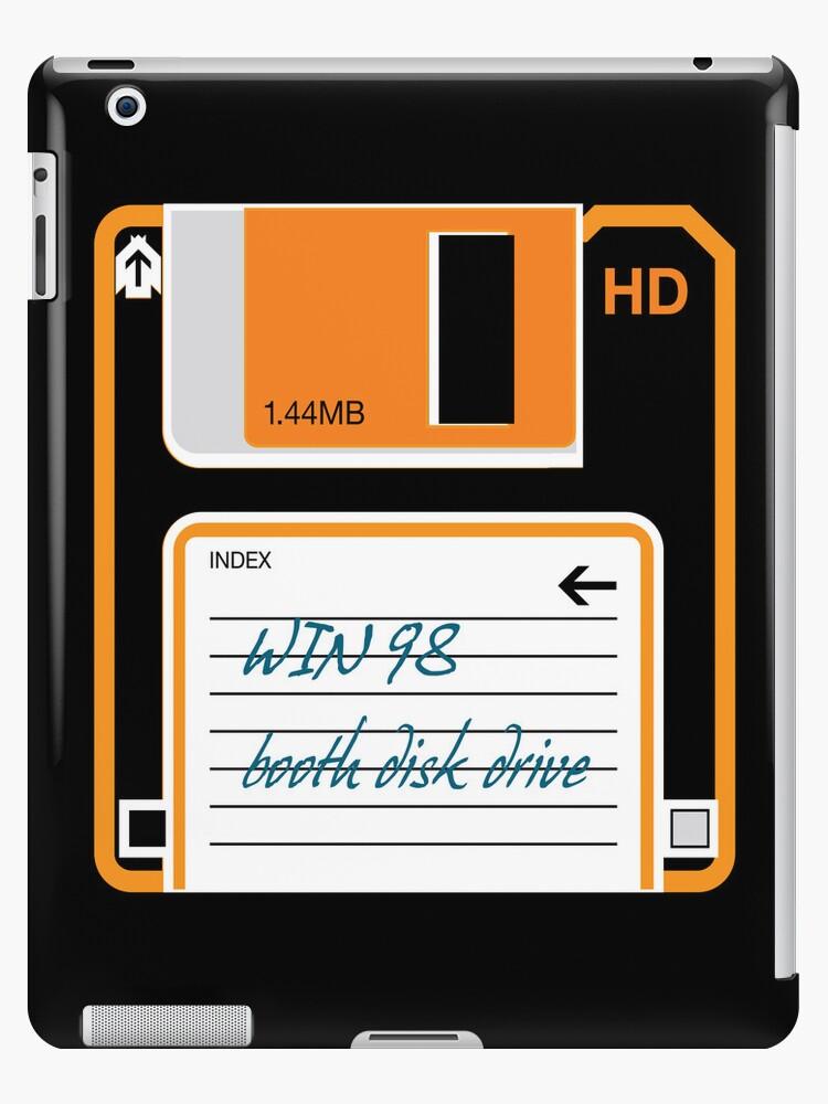 Retro Floppy Disc Drive iPad Case by CroDesign