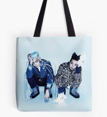 BIGBANG TOP & GD _Ice Blue Tote Bag