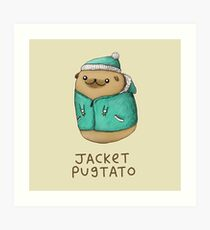 Jacket Pugtato Art Print