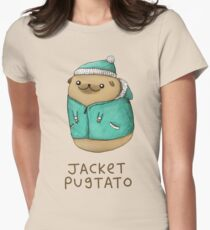 Camiseta entallada para mujer Chaqueta Pugtato