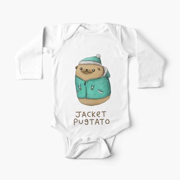 Jacket Pugtato Long Sleeve Baby One-Piece