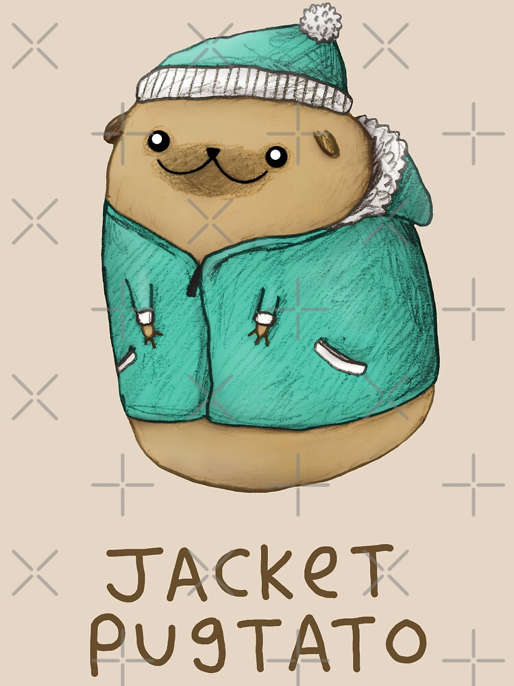 Jacket Pugtato by SophieCorrigan