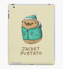 Jacket Pugtato iPad Case/Skin