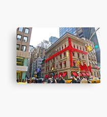 Lienzo 4)  Cartier's--Fifth Avenue-NYC