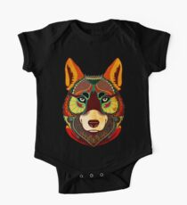 The Wolf One Piece - Short Sleeve