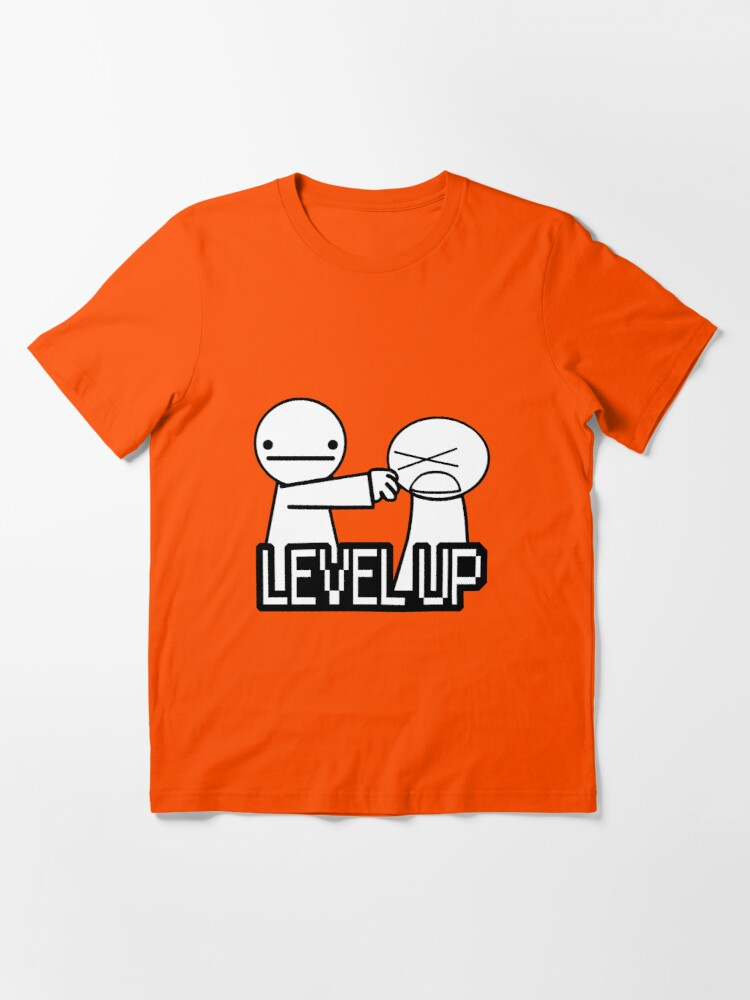 Alternate view of Level Up! Essential T-Shirt