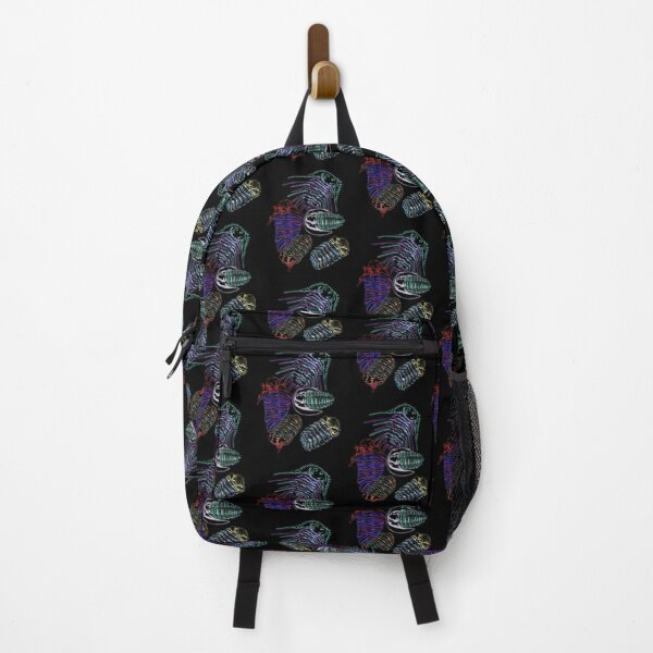 Silurian and Devonian Era Trilobites 2 Backpack