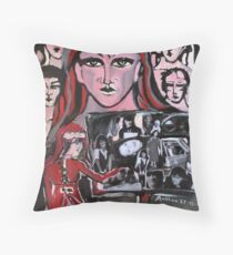 Presenting pieces of my life on Christmas 2012 Throw Pillow