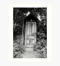 Door to no-where. Art Print