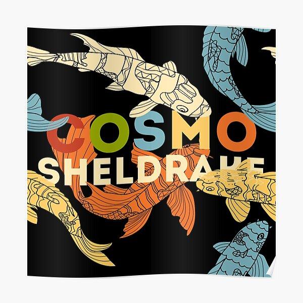 Cosmo Sheldrake with Koi Fish Poster