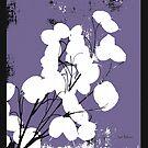 Money Plant Purple by Herb Dickinson
