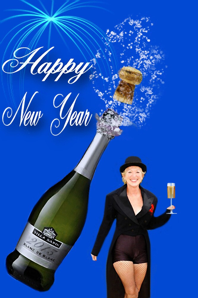 (✿◠‿◠) HAPPY NEW YEAR 2013 CHEERS CHAMPAIGN SPLASH (✿◠‿◠) by ✿✿ Bonita ✿✿ ђєℓℓσ
