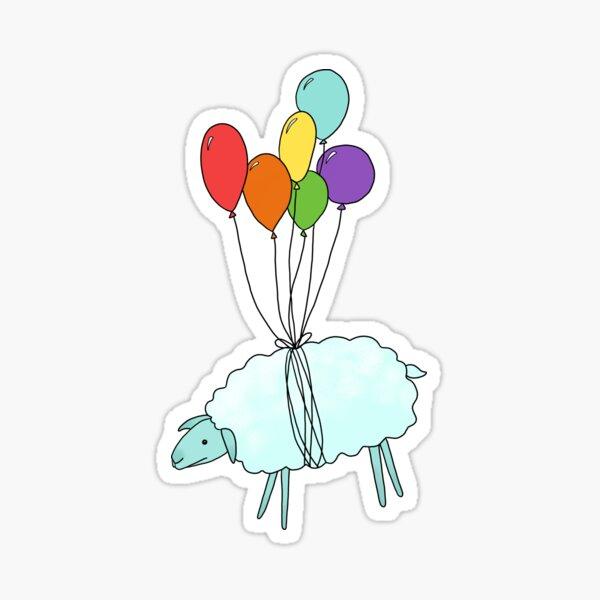 Cloud Sheep Sticker