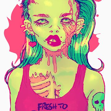 Zombie Del Rey by ashurcollective