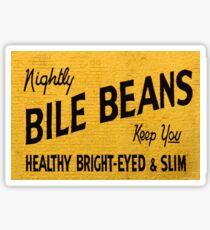 Bile Beans Sticker