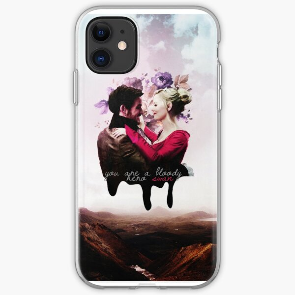You're a bloody hero Swan iPhone Soft Case