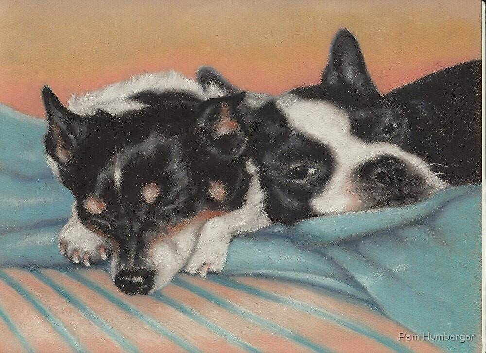 Snuggle Buddies by Pam Humbargar