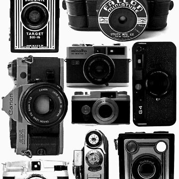 Retro Cameras by stuartist