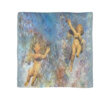 Watercolored Cherubs Scarf