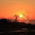 a splash of sunrise. by veins