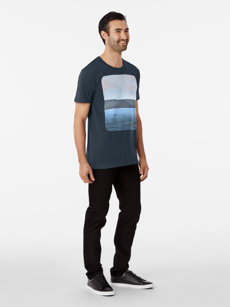 Alternate view of Berwick Law and Craig Leith, November 2018 Premium T-Shirt