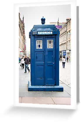 Police Box by Kaye Stewart
