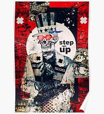 Step Right Up Poster