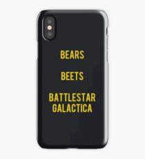 False. Black Bear. iPhone Case