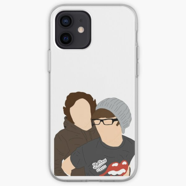 Larry hanging on each other iPhone Soft Case