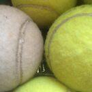 Tennis balls by Robert Steadman