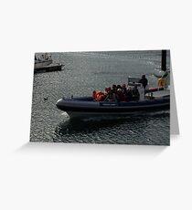 Speedboat Greeting Card