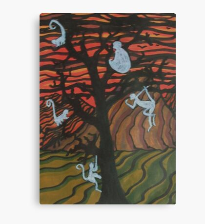 The Ghost Monkeys Canvas Print