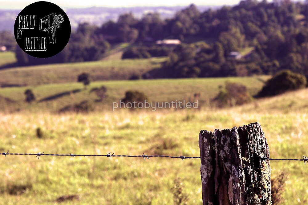 Fence post by photobyuntitled