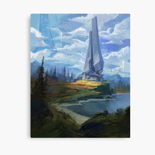 Zeta Halo Impression sur toile