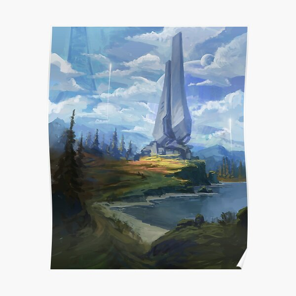 Zeta Halo Poster