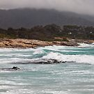 Bicheno Storm Waves by Alastair Creswell