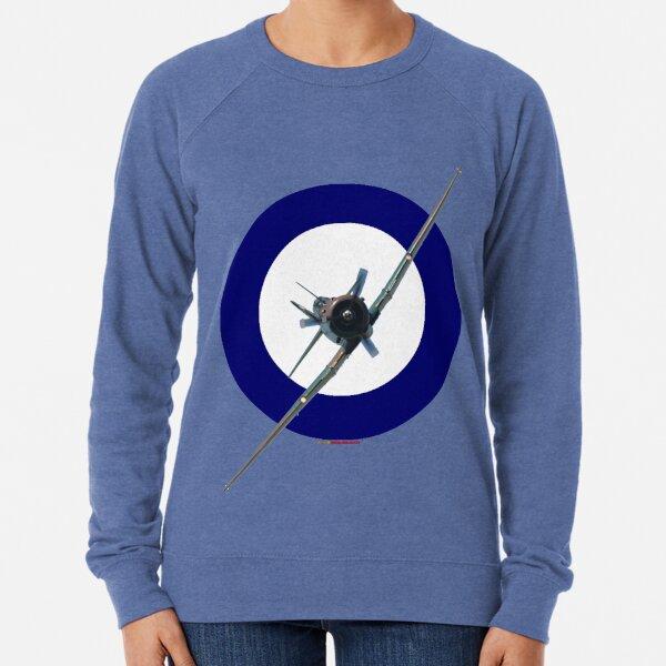 Pacific WW2 RAAF Roundel Wirraway VH-WWY 20190407 Lightweight Sweatshirt
