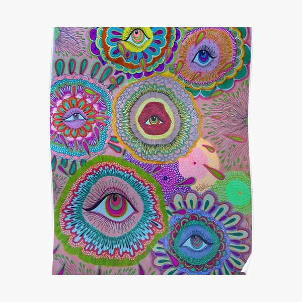 indie eye collage Poster