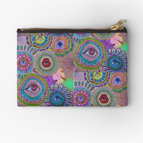 indie eye collage Zipper Pouch