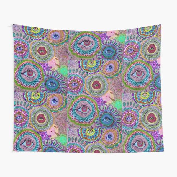 indie eye collage Tapestry