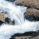 Water over the rocks by Alastair Creswell