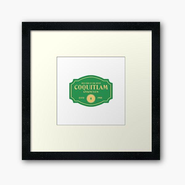 Coquitlam Framed Art Print